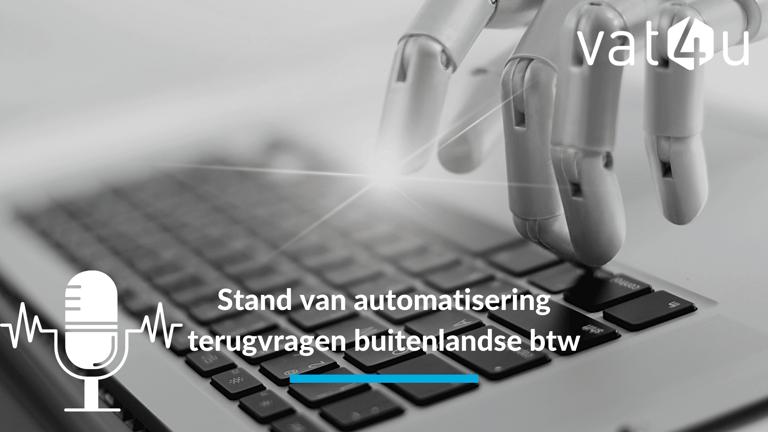 Buitenlandse btw en de stand van automatisering