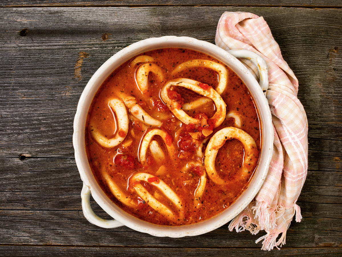 Recipe: Cozy Calamari Stew