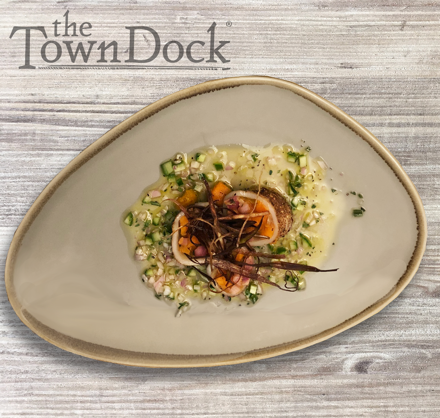 Recipes Inspirations The Town Dock This product of usa is perfect for a new application we're calling california popcorn calamari. it makes for an interesting application consumers love! recipes inspirations the town dock