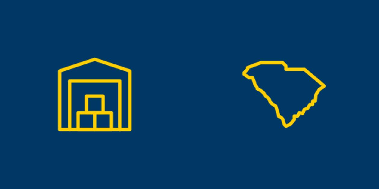 Self Storage and South Carolina Icons
