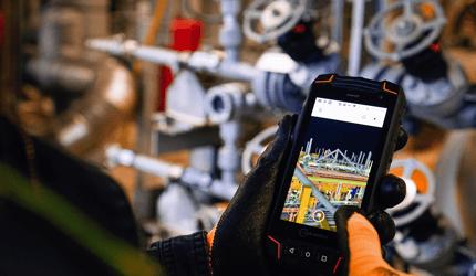 ダウンストリームにおけるDX|現場作業員の健康、安全、生産性の向上を実現
