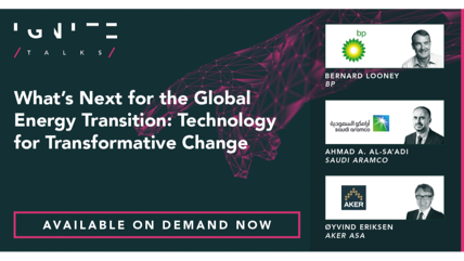 What's Next for the Global Energy Transition: Technology for Transformative Change