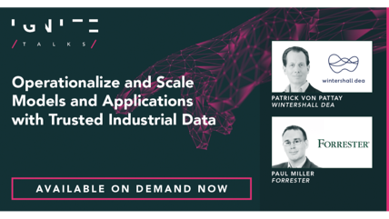 Operationalize and Scale Models and Applications with Trusted Industrial Data
