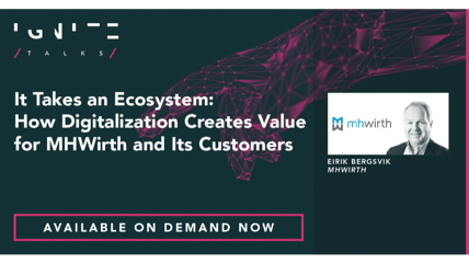 It Takes an Ecosystem: How Digitalization Creates Value for MHWirth and Its Customers