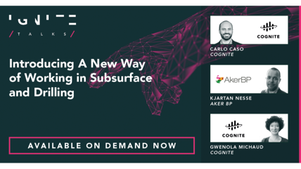 Introducing A New Way of Working in Subsurface and Drilling