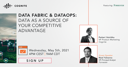 Data Fabric & DataOps: Data as a source of your competitive advantage