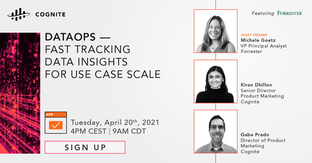 DataOps - Fast tracking data insights for use case scale