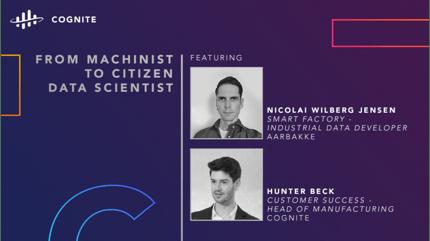 From Machinist to Citizen Data Scientist