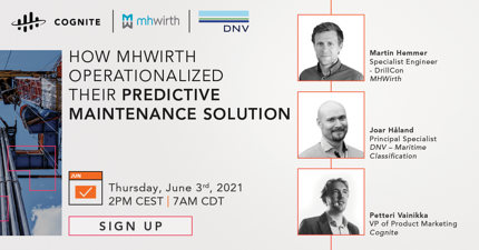 How MHWirth Operationalized Their Predictive Maintenance Solution