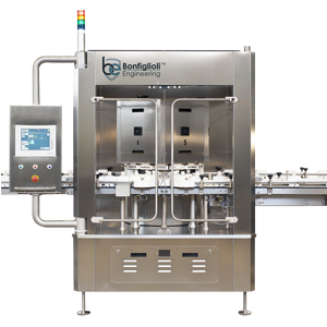 PK-VG | In-line not-standing F&B containers Tester