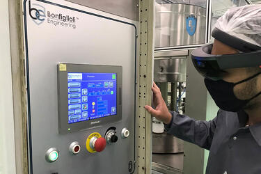 Bonfiglioli Engineering: Partnering around the globe with clients through Microsoft HoloLens