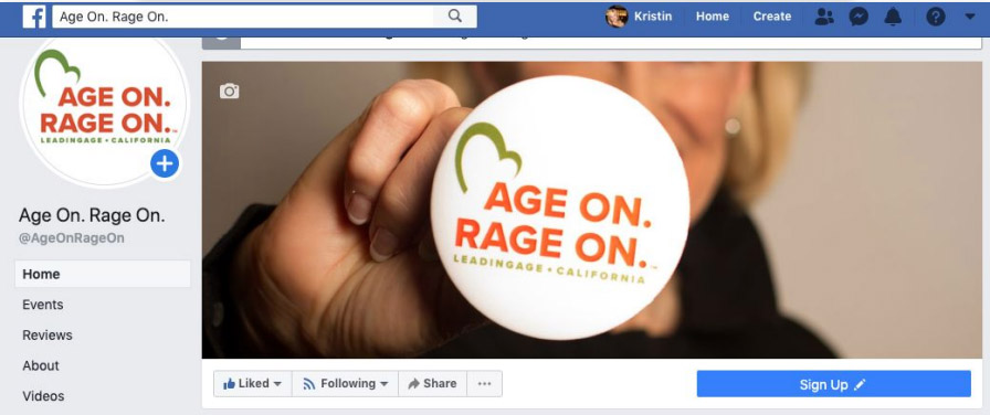 Age On Rage on FB profile header image 46Mile