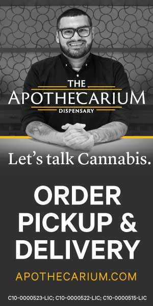 Apothicarium Cannabis Digital Ad Example