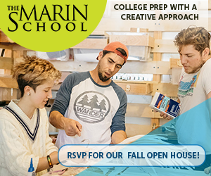 The Marin School 2020 Square Ad Example