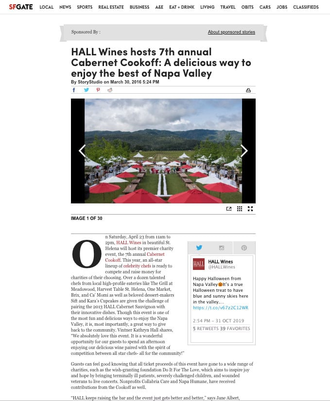 HALL Wines Cabernet Cookoff StoryStudio Native Ad Example copy