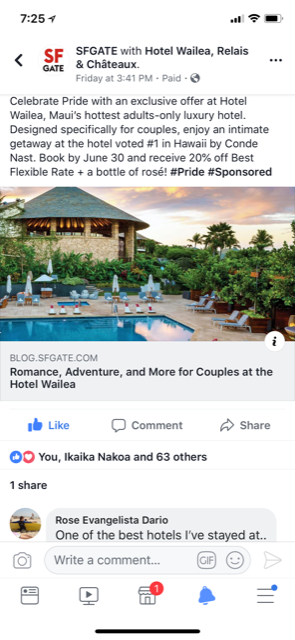 Hotel-Wailea-SFGATE-Facebook