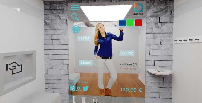 """Die Zukunft im """"Blick"""" - Augmented Reality im Handel"""