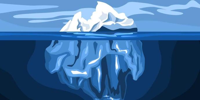 Der Omnichannel-Eisberg: Gewaltige Backendprozesse liegen im Verborgenen