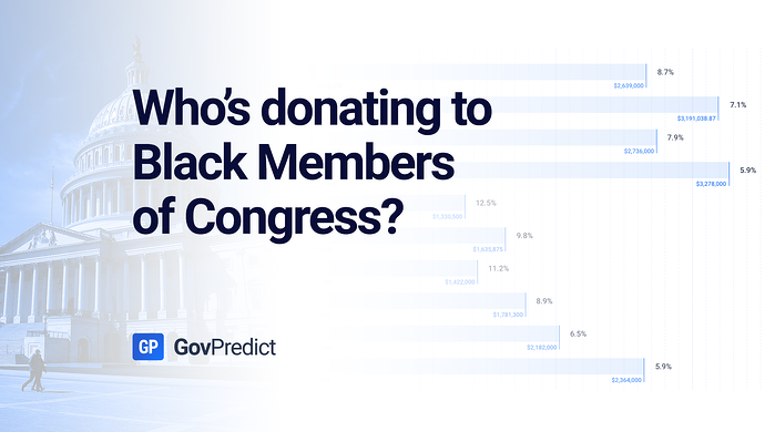 Who's donating to Black Members of Congress?
