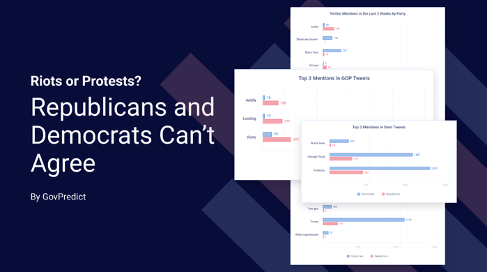 Riots or Protests? Republicans and Democrats Can't Agree