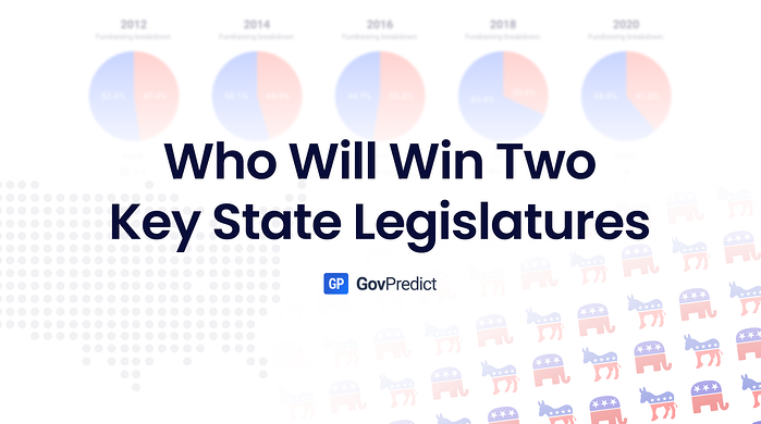GovPredict: Who Will Win Two Key State Legislatures This November