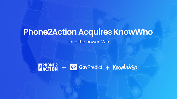 Phone2Action Acquires KnowWho