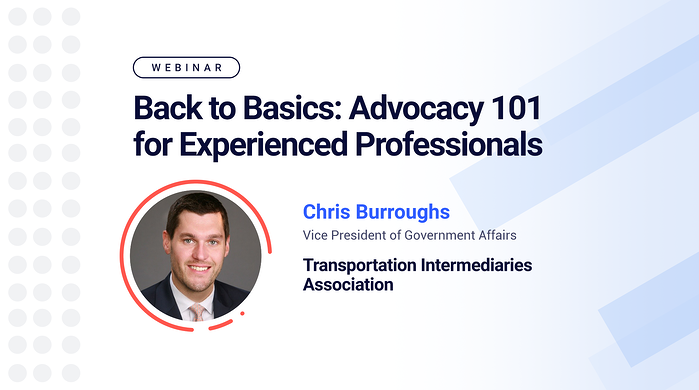 Webinar - Back to Basics: Advocacy 101 for Experienced Professionals