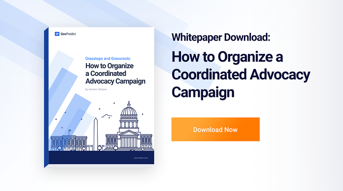 Whitepaper - How to Organize a Coordinated Advocacy Campaign