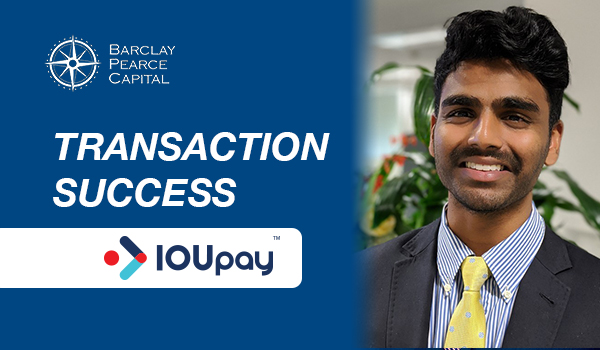 Transaction Success: IOUPay (ASX: IOU)