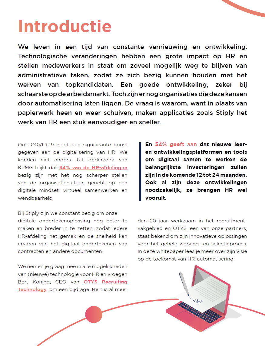 Introductie whitepaper HR-automatisering