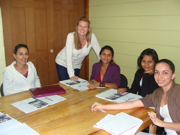 costa rica tefl students