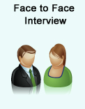 English teaching interviews by phone and face to face