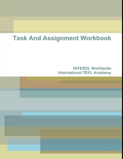 International TEFL Academy Task Book Print
