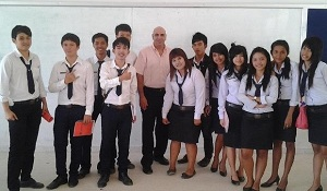 Teaching English abroad in Thailand school