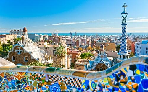 teach english barcelona spain view