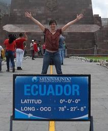 Ecuador Shannon Etling ITA Alumni on ecuator