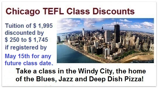 Chicago TEFL classes