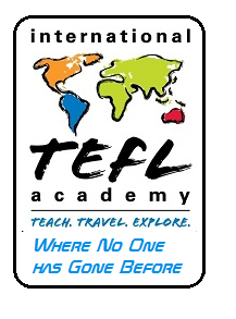 International TEFL Academy Logo Star Trek