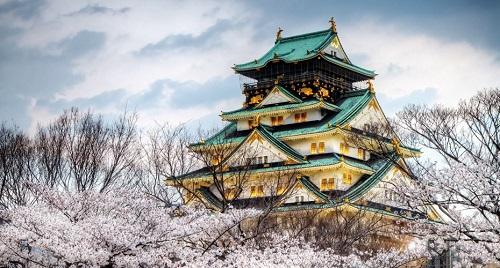 Osaka Palace travel and explore the world