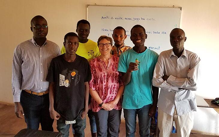 Volunteer Teaching in Guinea-Bissau: Q&A with Marit Snow Sawyer
