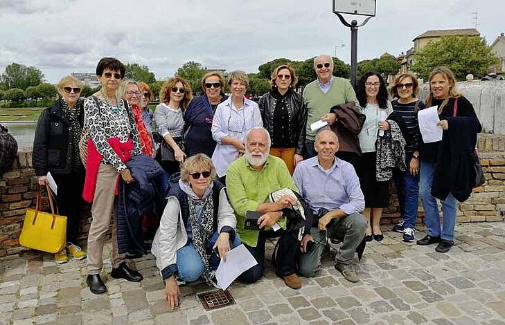 Teaching Golden Age Italians English in Bologna