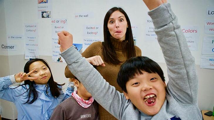 The Requirements for Teaching English in Korea