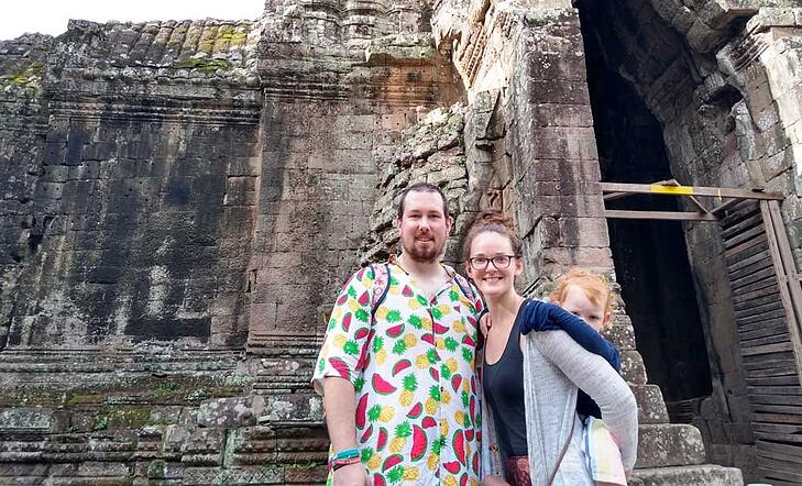 Moving to Cambodia to Teach English With My Husband & Child