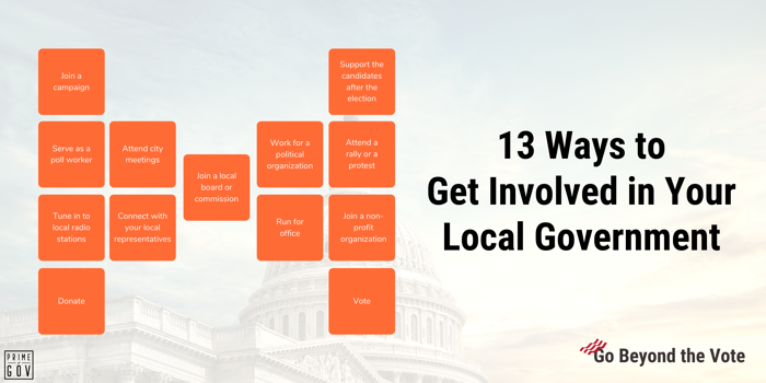 13 Ways to Get Involved in Your Local Government