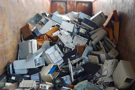Hat sich COVID-19 auf die Erzeugung von Elektro-Abfällen ausgewirkt?