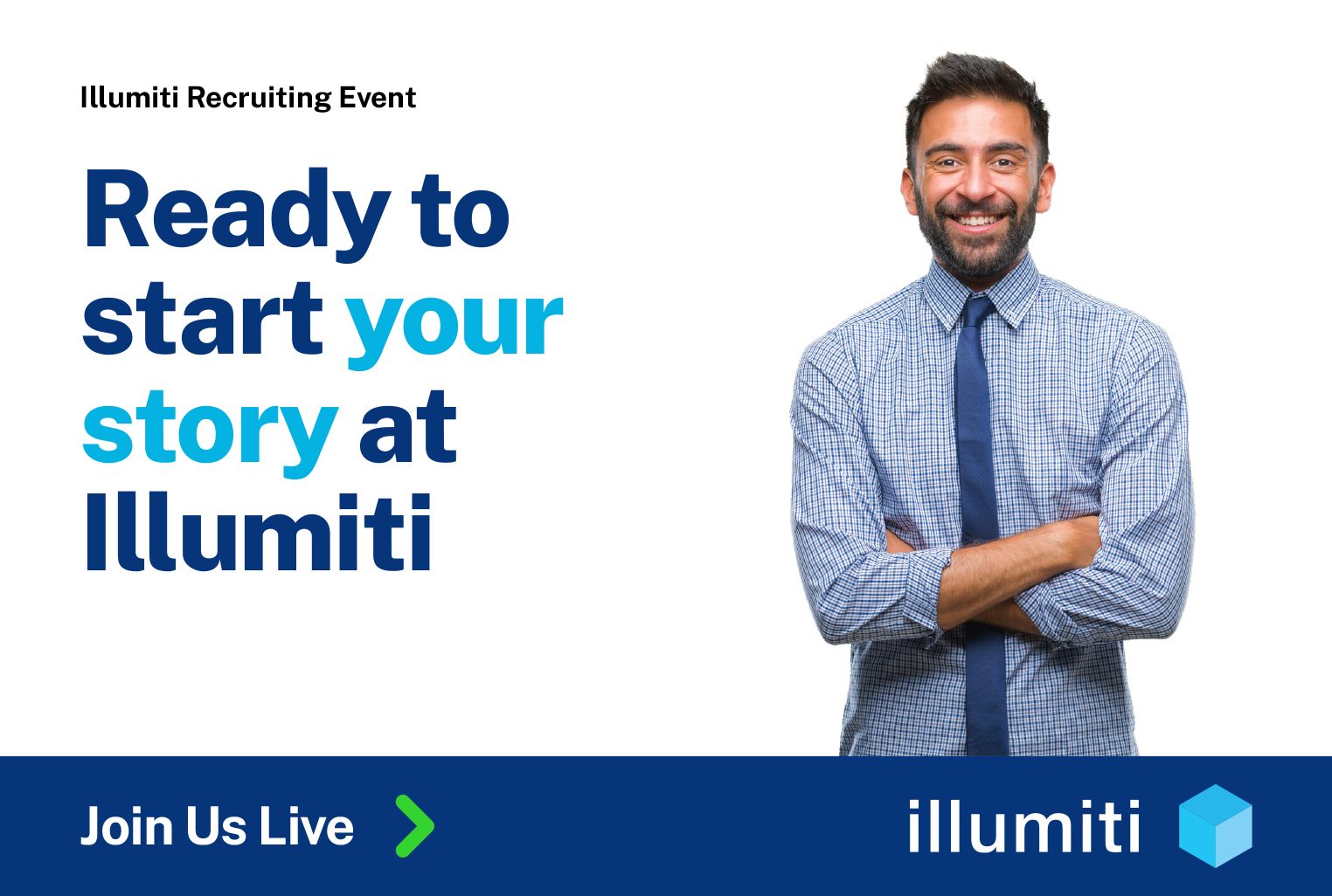 Ready to start your story at Illumiti