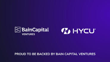 Proud to be Backed by Bain Capital Ventures