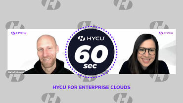 See and hear what makes HYCU idea for Nutanix and VMware IT environments!