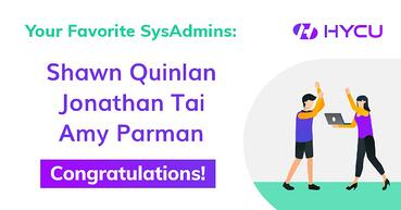Congrats to this year's #SysAdminDay Winners!