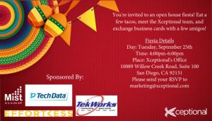 An Open House Fiesta!